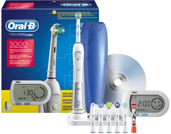 электрическая зубная щетка Oral-B Triumph Professional Care 5000