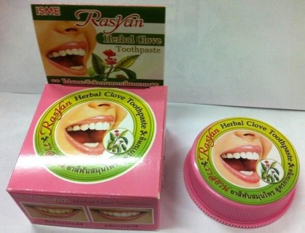 фото тайская зубная паста