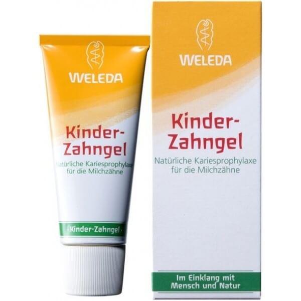 Weleda - немецкая зубная паста не содержащая фтор