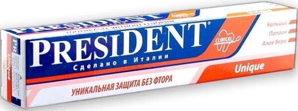 PRESIDENT Unique без фтора