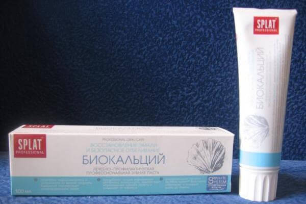 SPLAT Биокальций без фтора