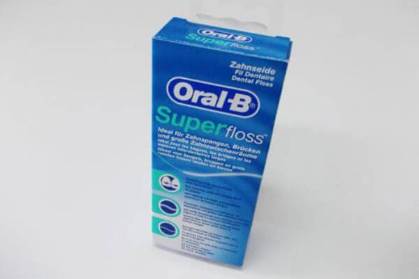 зубная нить орал би Super Floss