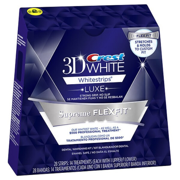 американские полоски Crest Whitestrips Supreme FlexFit