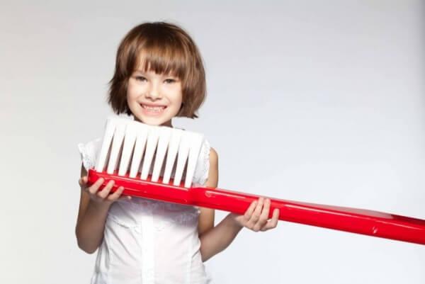 как ухаживать детям за зубами в картинках