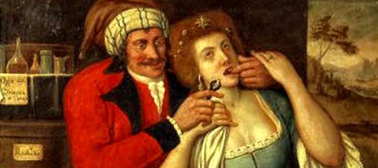 стоматологи прошлого