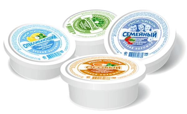 Популярные марки отбеливающих зубных порошков