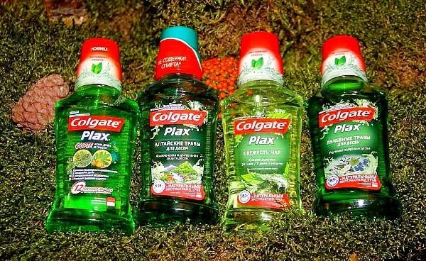 Чем отличаются ополаскиватели Colgate Plax