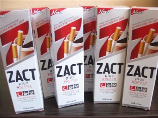 Плюсы и минусы зубной пасты Zact Plus
