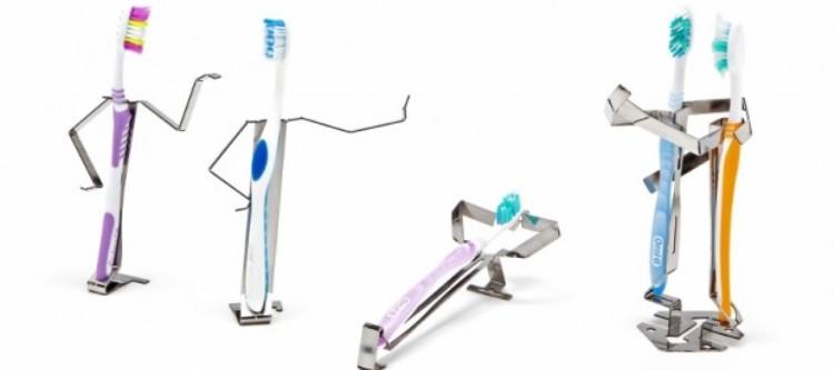 держатель для электрических и простых зубных щеток
