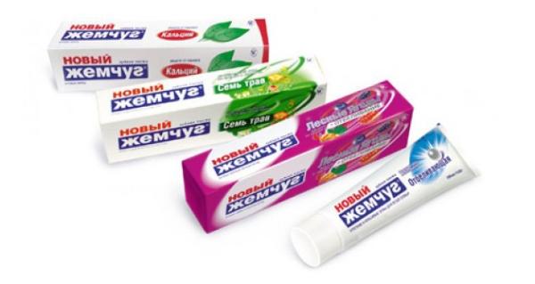 Действенная и бюджетная зубная паста Новый жемчуг