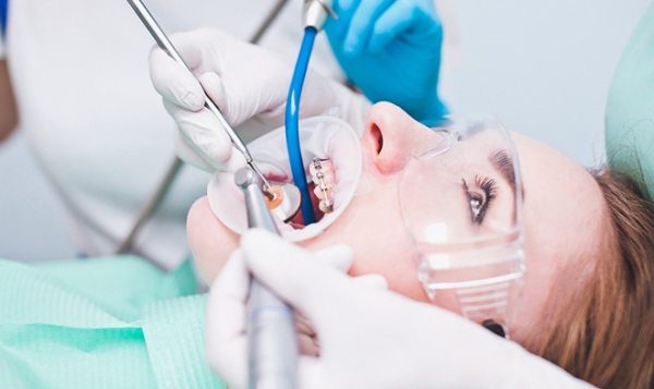 Металлические брекеты american orthodontics
