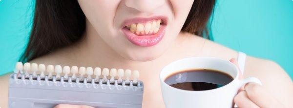 Потемнение эмали зубов у детей