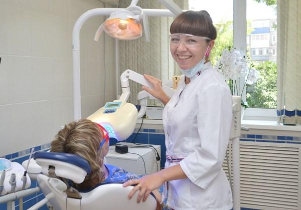 Техника отбеливания зубов по технологии Luma Cool