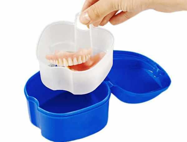 Ультразвуковой контейнер для зубных протезов