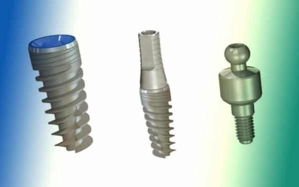 Применяемый для изготовления имплантатов Denti System материал