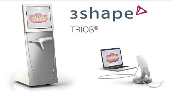 Как работает сканер 3Shape Trios