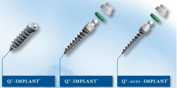 Виды имплантов Trinon