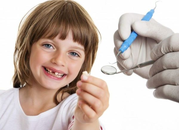 Постановка зубов по интактному зубному ряду