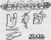 Элементы ортодонтических аппаратов