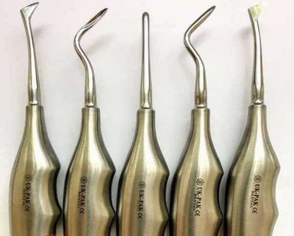Характеристики элеваторов для удаления зубов