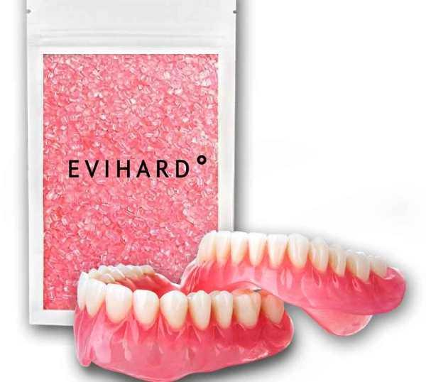 Характеристики протезов из пластмассы Evihard